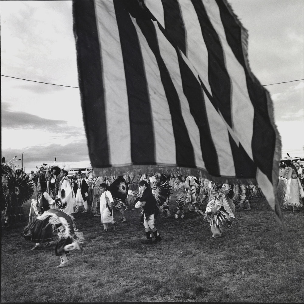 Grand Entry, Mandaree, North Dakota, archival pigment print,16x20, 1990