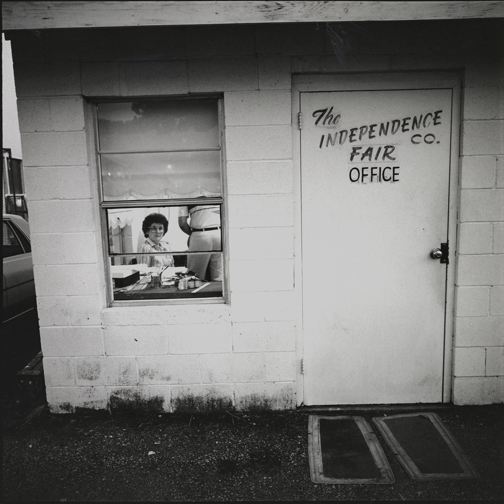 Fair Office, Batesville, Arkansas, archival pigment print,16x20, 1990