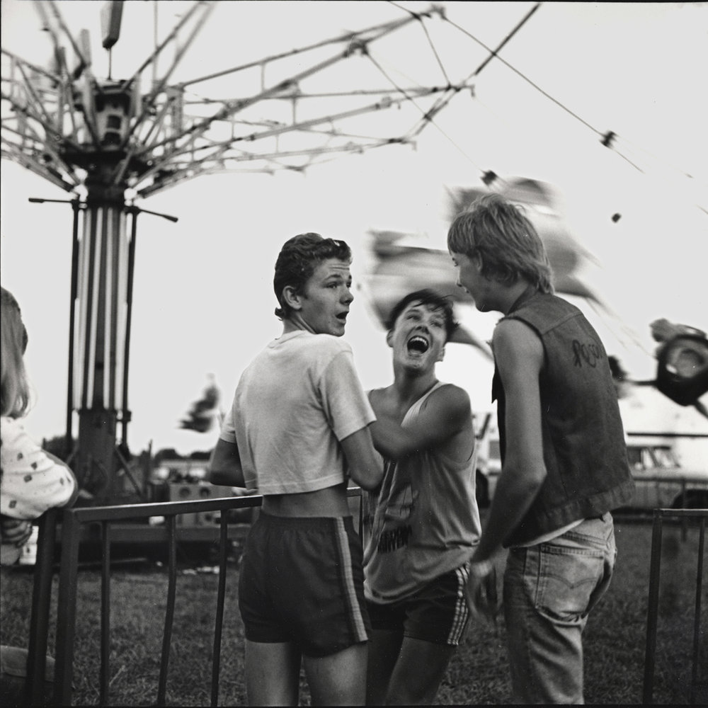 Boys by Ride, Gravois Mills, Missouri, archival pigment print,16x20, 1988