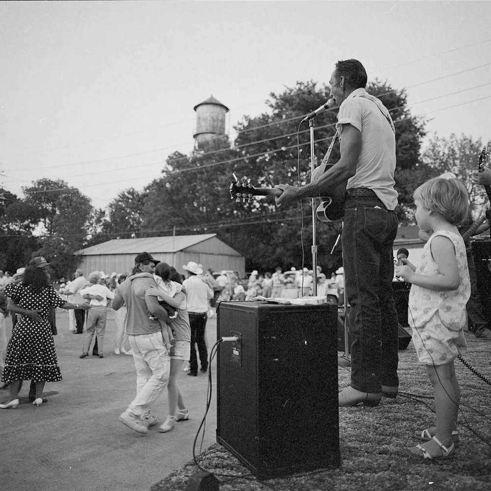 Street Dance, Horatio, Arkansas, archival pigment print, 16x20, 1990