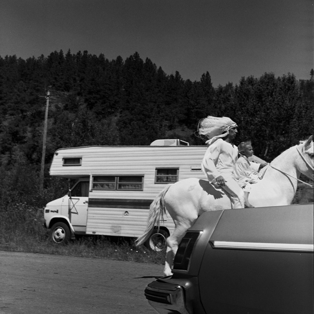 After the Parade, Stickney, South Dakota, archival pigment print, 16x20, 1989
