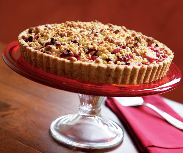 Festive Cranberry-Pear Tart in a Walnut Shortbread Crust.jpg