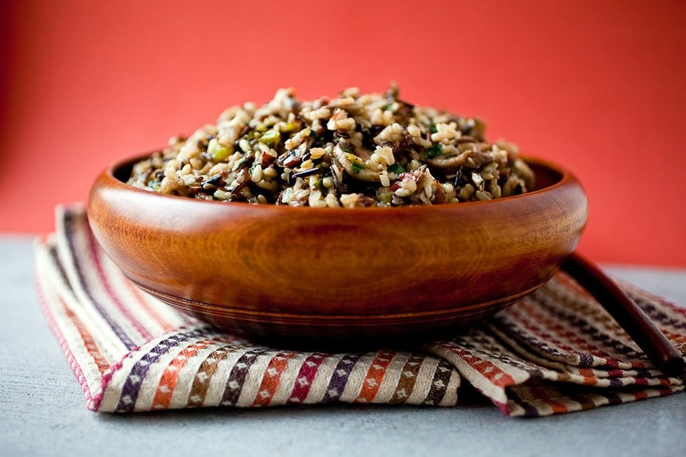 Wild Rice, Almond and Mushroom Stuffing or Pilaf.jpg