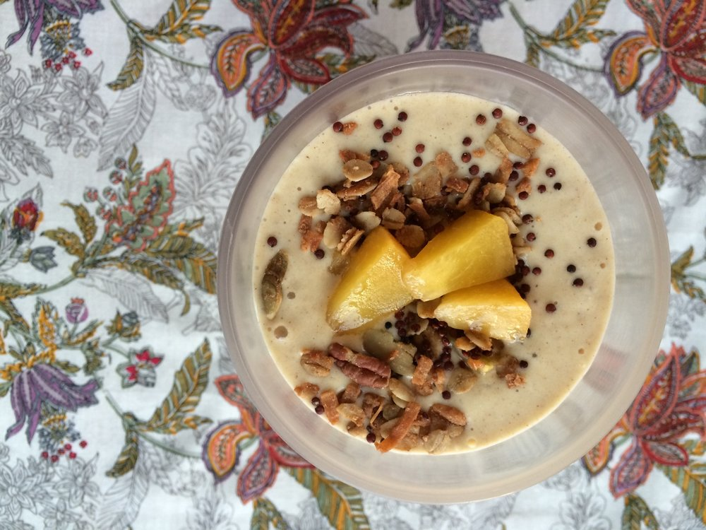 Have-It-Your-Way Smoothie  with buckwheat groats