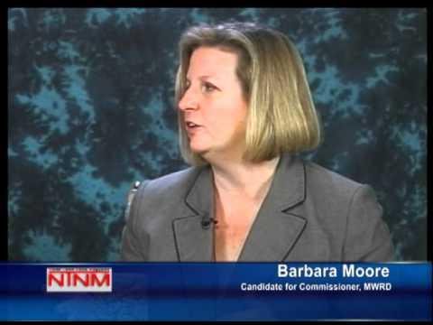 Barbara Moore for MWRD