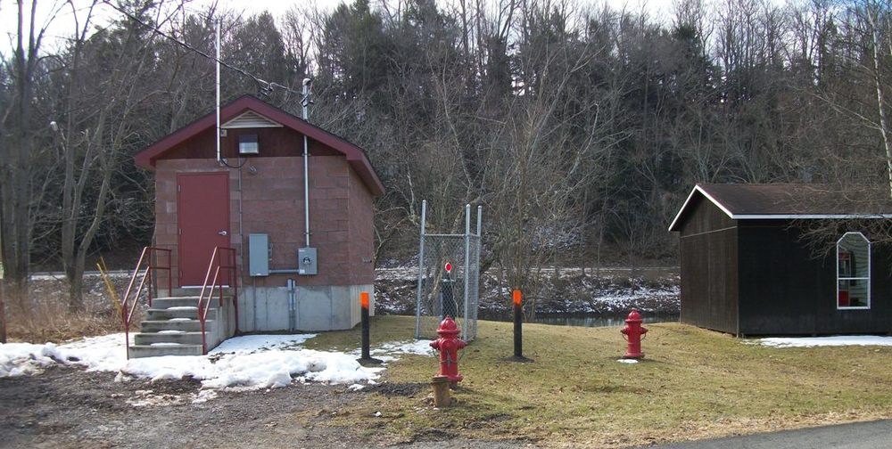 Village of Unadilla Pumphouse