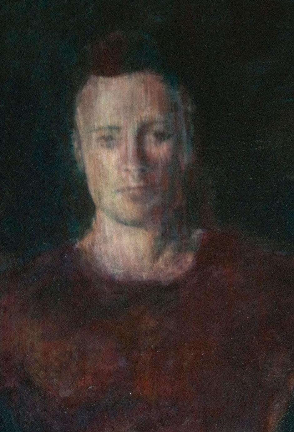 """Astylos of Crotona (detail)"" Oil on canvas. 2011"
