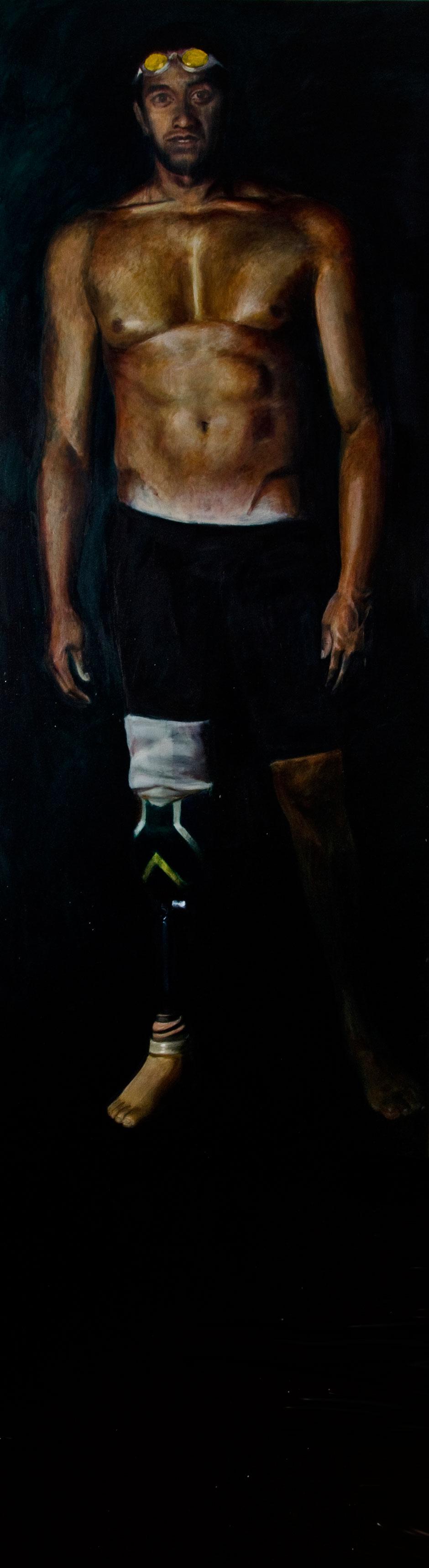 """Aigias of Pharsalos"". Oil on Canvas. 2011"