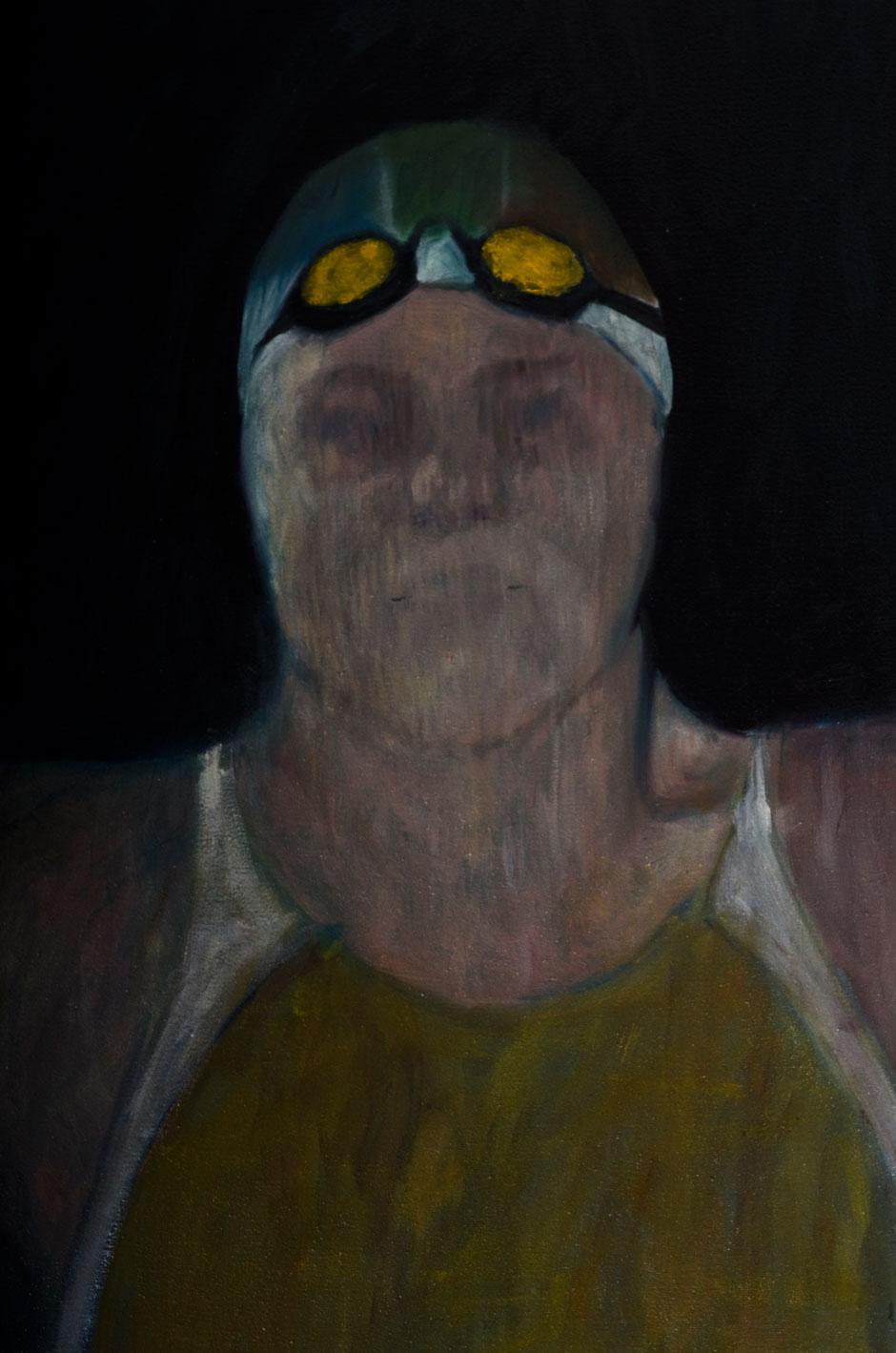 """Cynisia of Sparta"". Oil on Canvas. 2011"