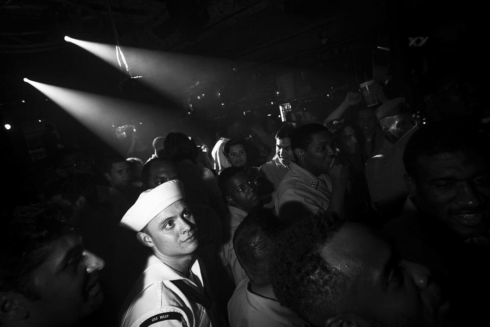 Sailor in the Spotlight, New Orleans LA, April 2015