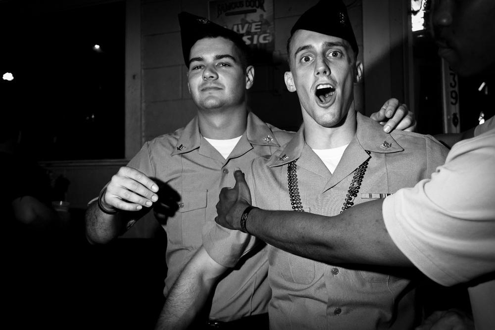 Sailors, New Orleans LA, April 2012