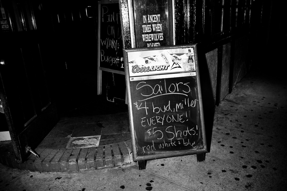 Sailors Welcome, New York NY, May 2011