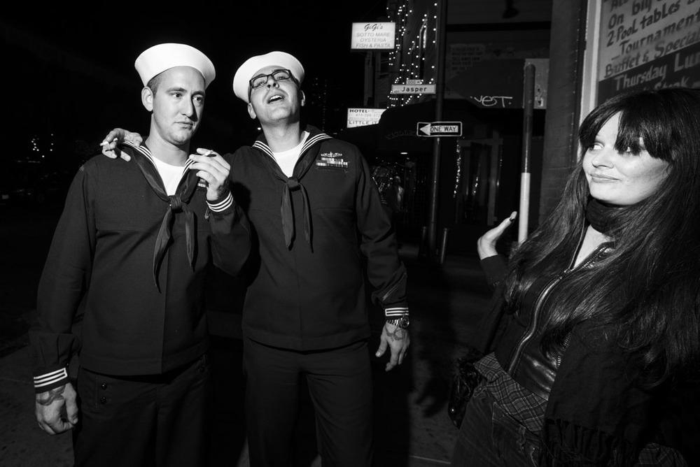 Talk to the Hand Sailor, San Francisco CA, October 2012