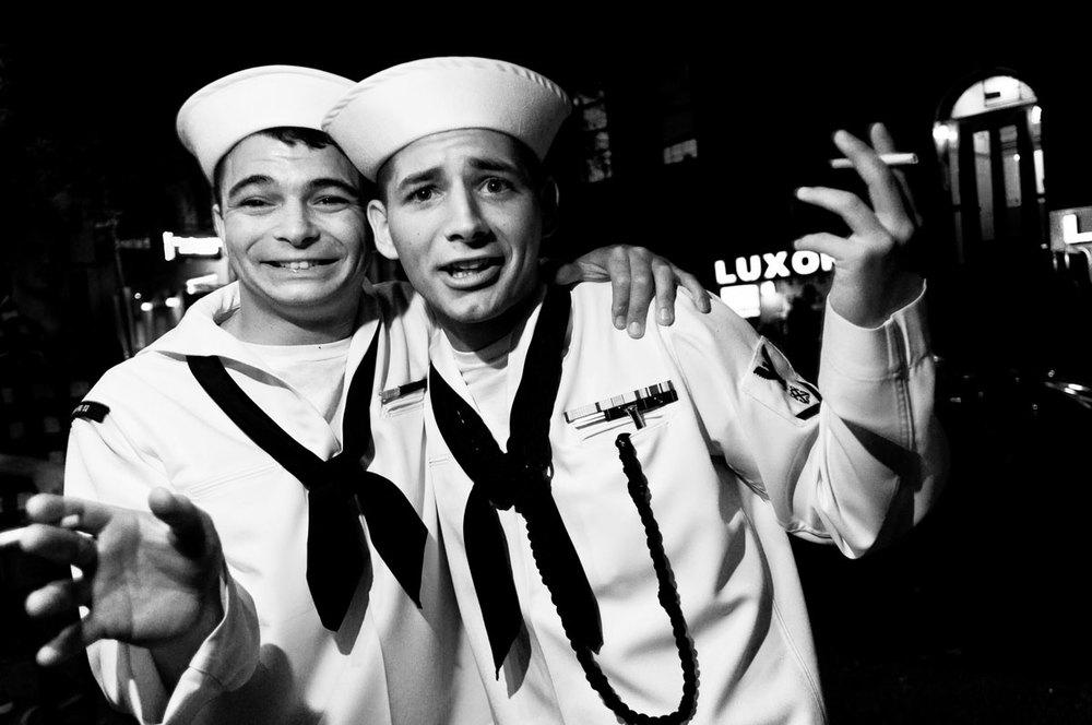 Sailor, New York NY, May 2011