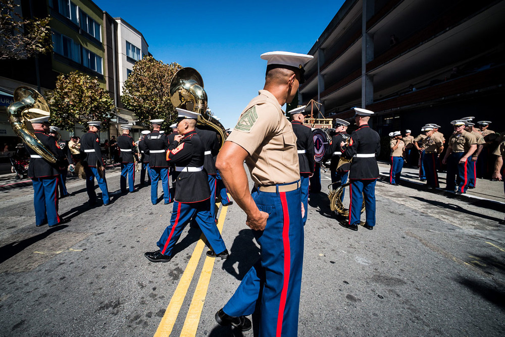Marine, San Francisco CA, October 2014