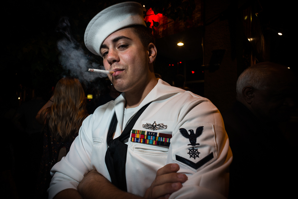 Copy of Smoking Sailor, Seattle WA, August 2015