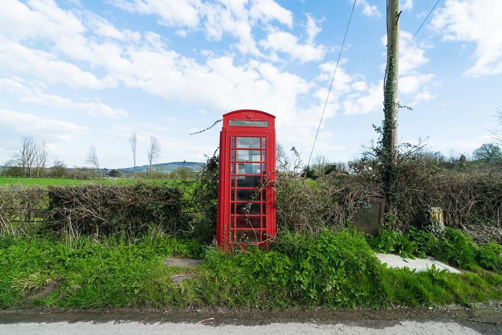 Phonebox, Berwick Village UK, March 2016