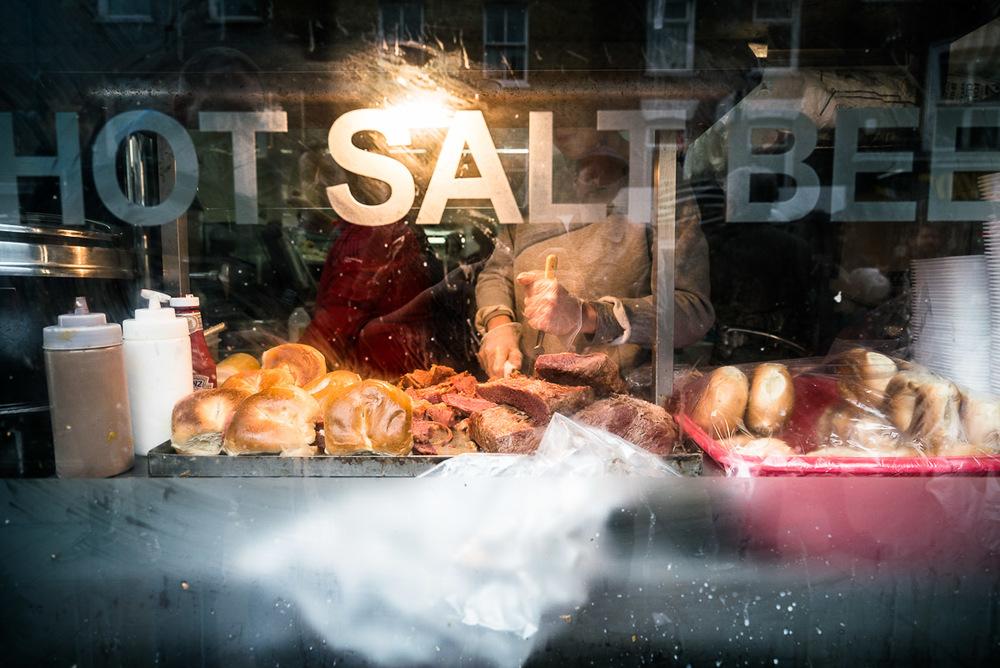 Salt Beef, East London UK, March 2016