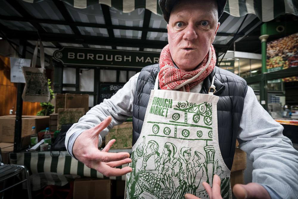 Bourough Market, London UK, March 2016
