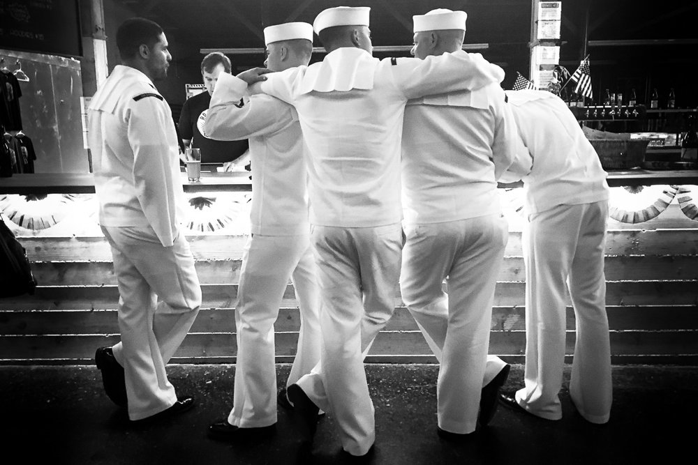 Sailors, Los Angeles CA, August 2016