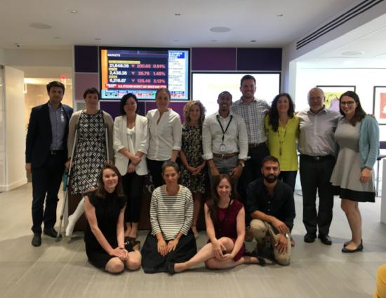 i-team participants in Bloomberg Philanthropies & Behavioral Insights Team traing