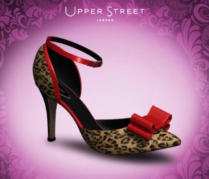 Upper Street leopard print shoe