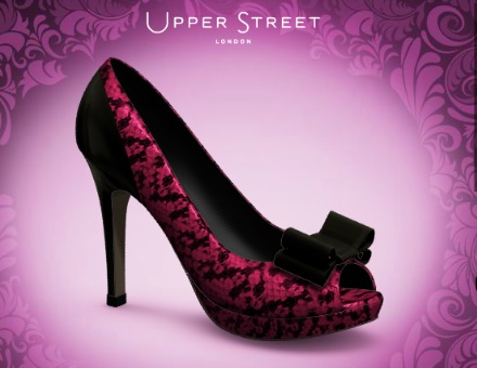 Upper Street pink shoes