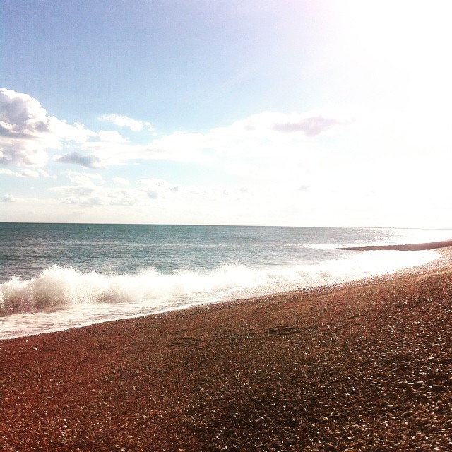 Beautiful Brighton beach