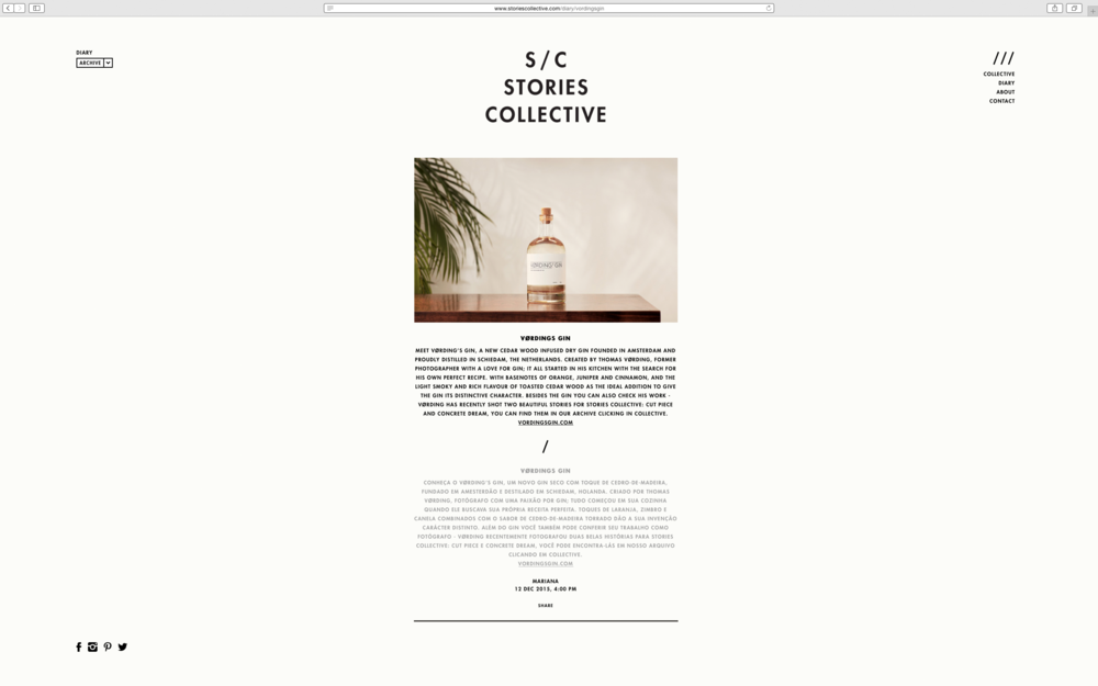 stories collective diary