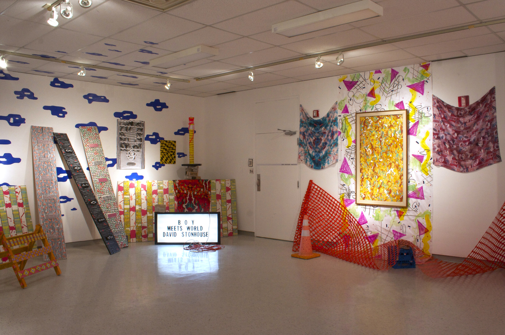 Boy Meets World    installation view