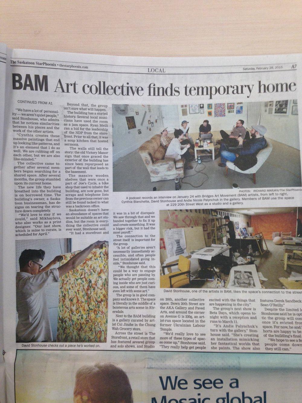 BAM Star Phoenix Article Cont'd