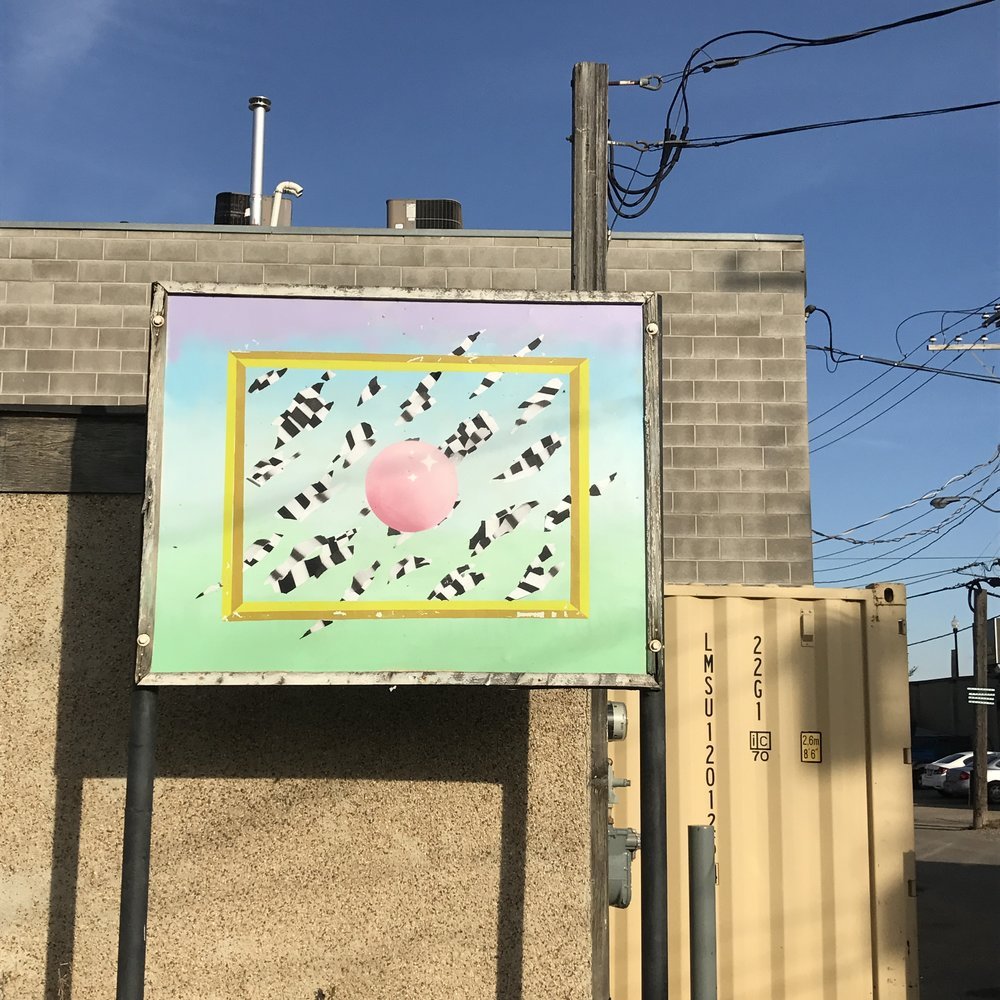 BONKERS mural