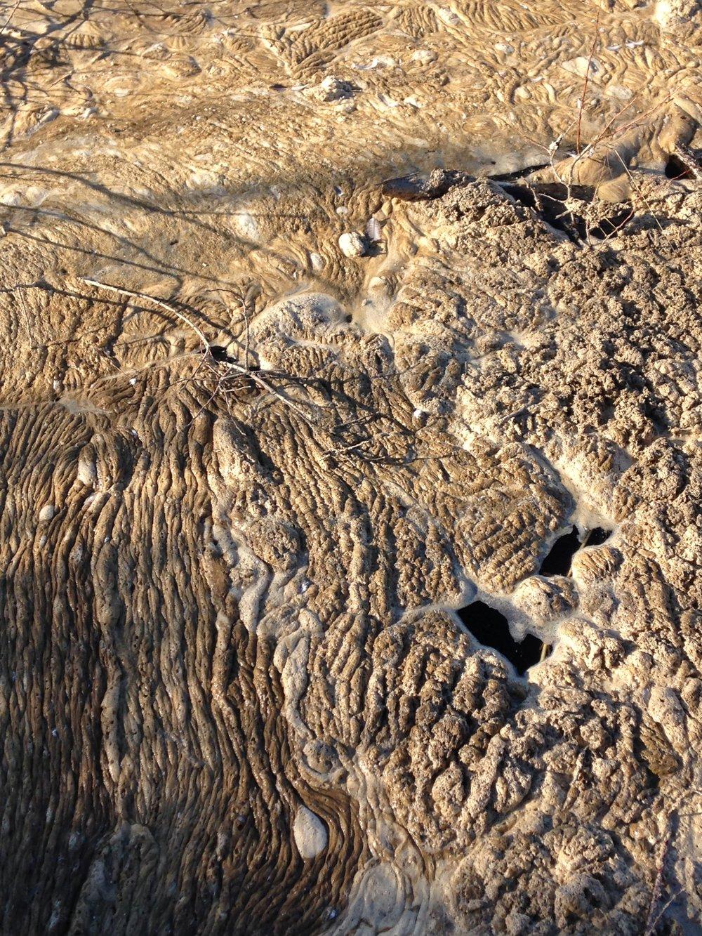 river foam