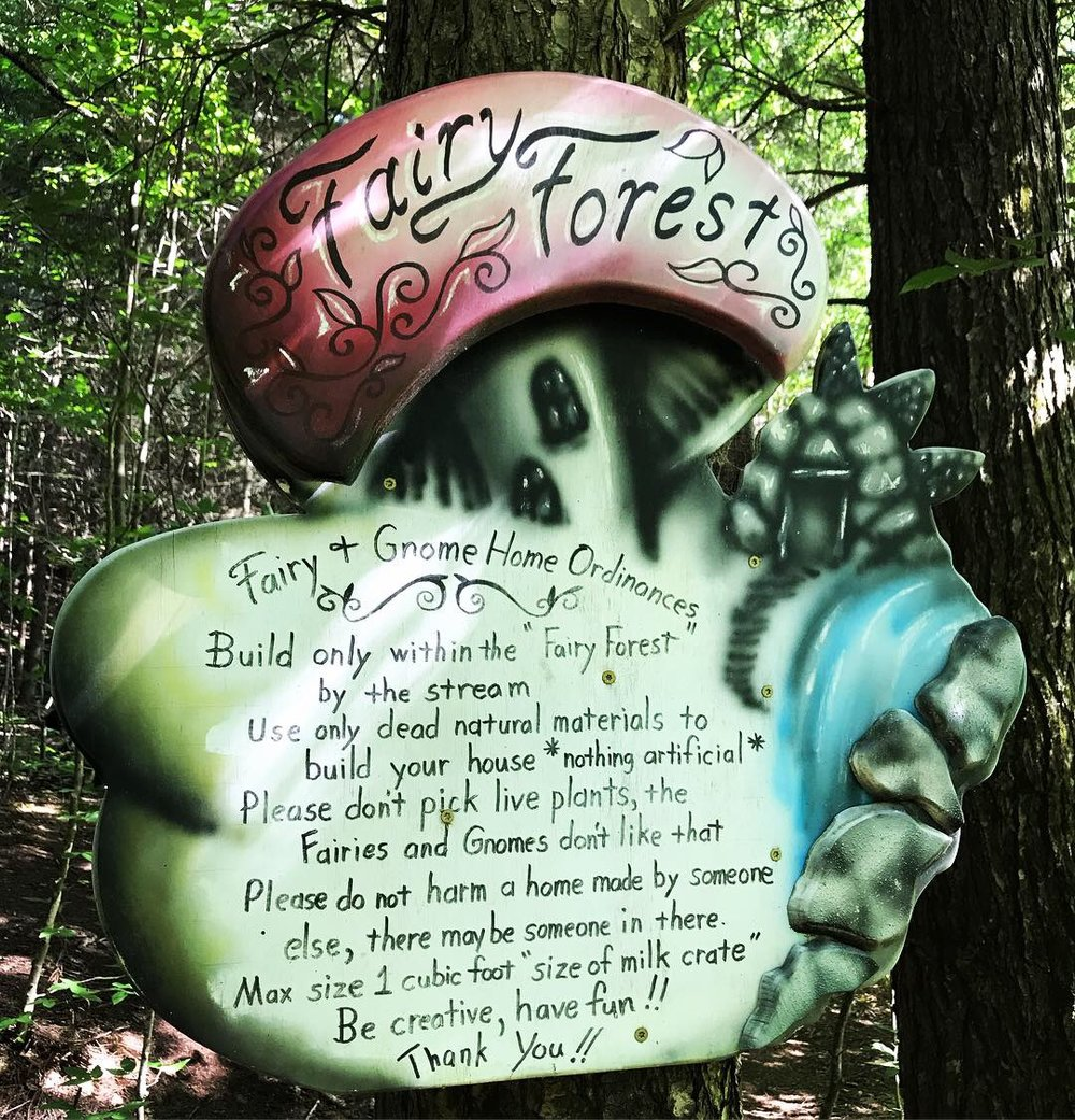 Fairy Forest sign