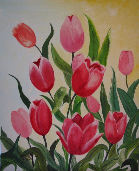 """TULIPS OF MY FATHER"""