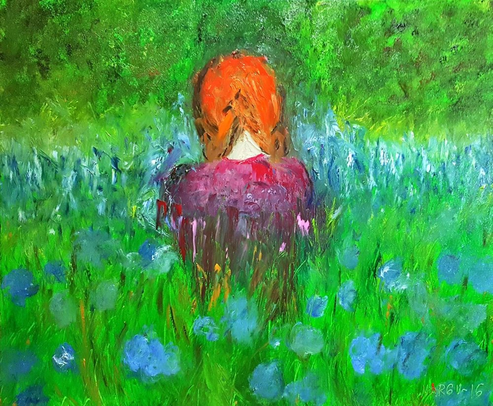 """""""la niña del pelo rojo"""""""