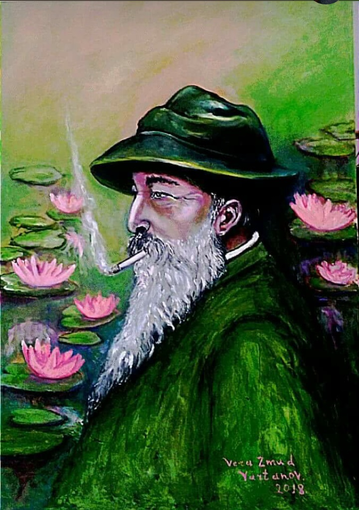 """HOMAGE TO CLAUDE MONET"""