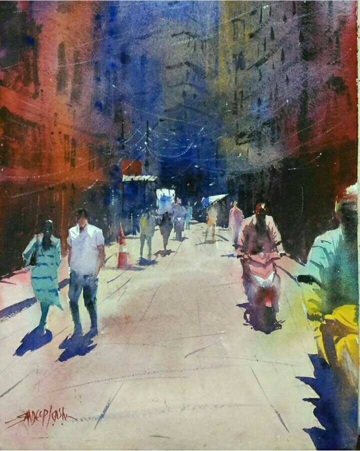"""""""STREETS IN NEPAL"""" I"""