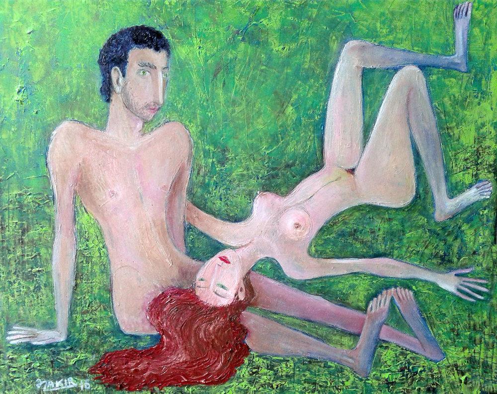 17.Grassplot 2016yea50x60cmOriginal Painting Oil on Canvas4500$.jpg