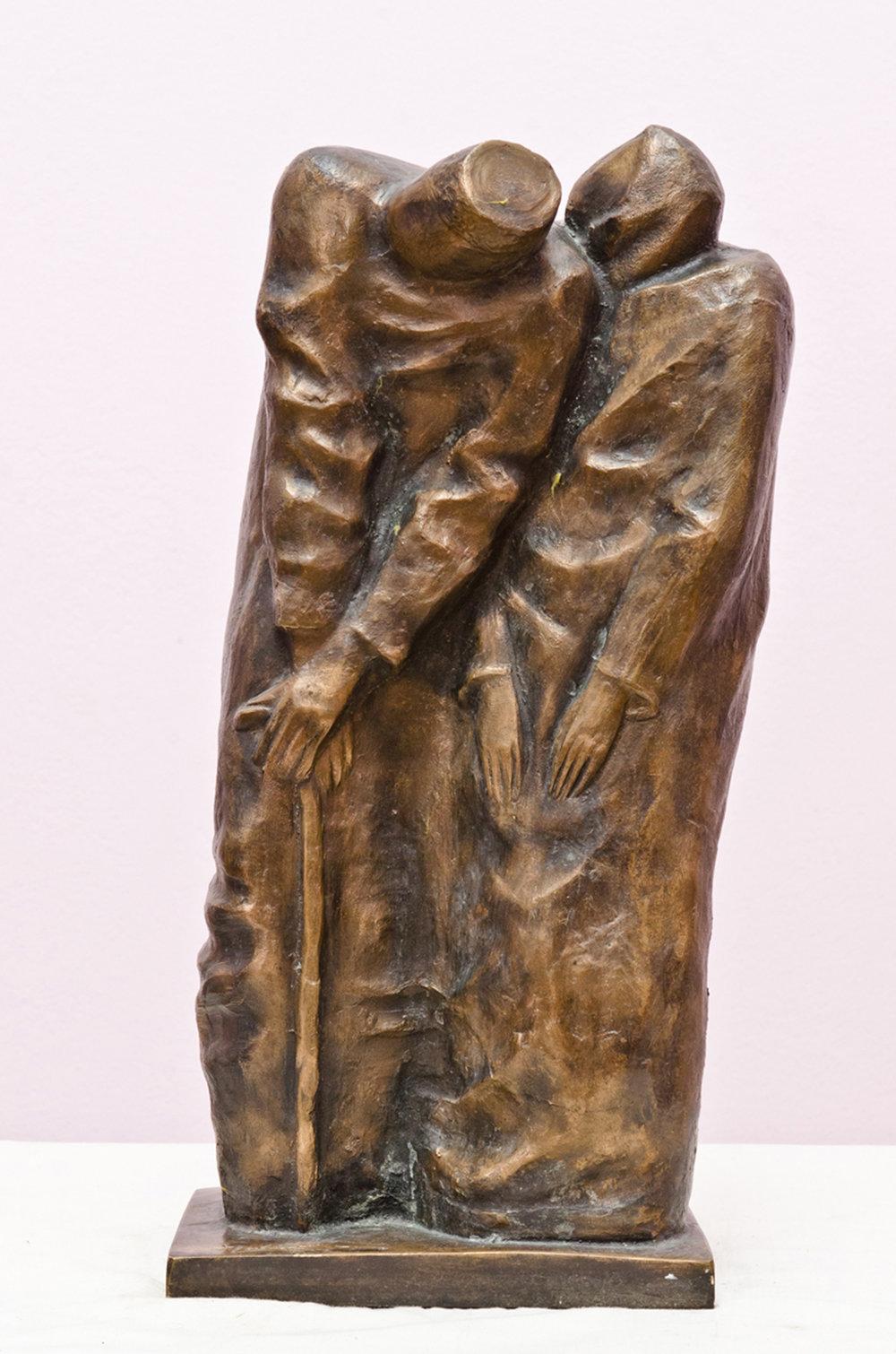 24..Llast days.2000year .bronze.45x20x13 cm 5500 $.jpg