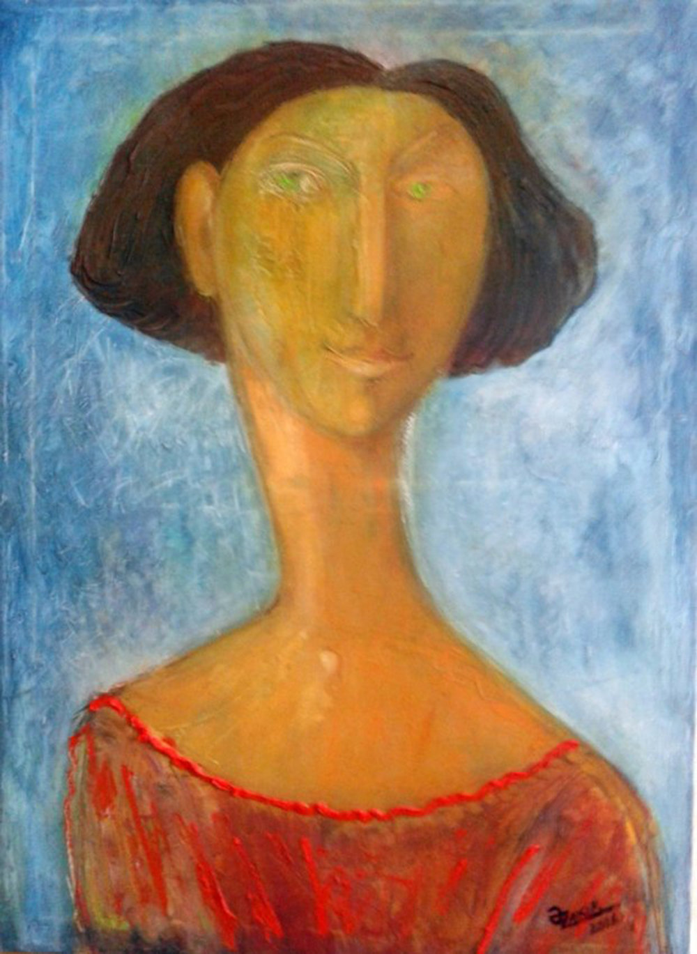 28..Portrait of a Girl 2016year70x50cm Original Painting Oil on Canvas  4000$.jpg