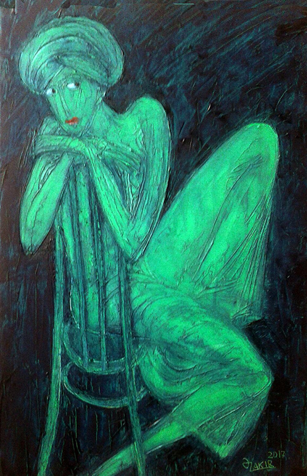 45.Expectation 2017year 60x40cm Original Painting Oil on Canvas3500$.jpg