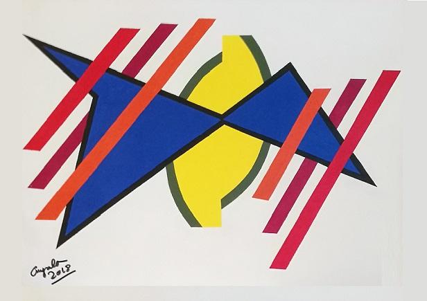 """""""TANIA 4"""" Pintura nº 312"""