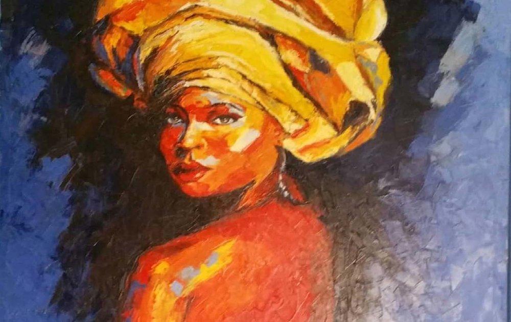 """GELE: A NIGERIAN HEADWRAP"""