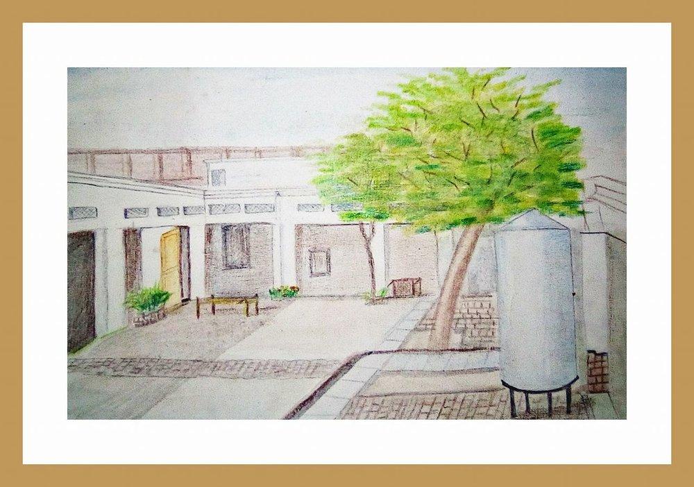 Watercolor practice work