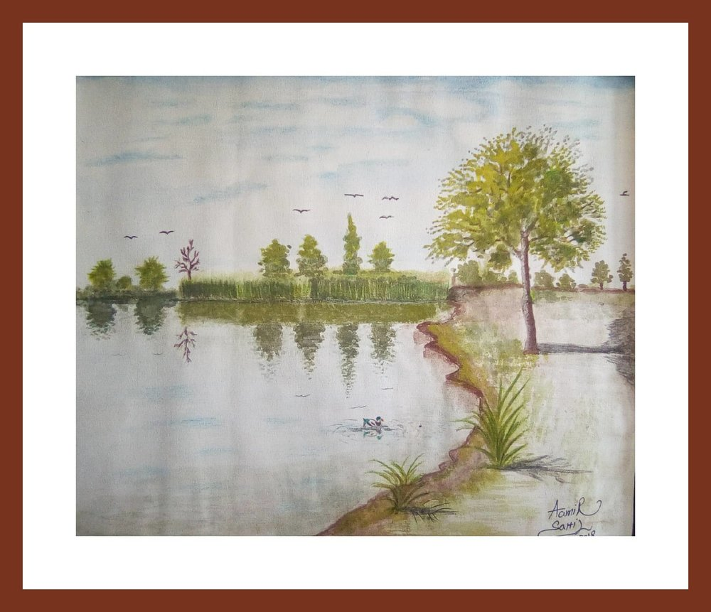 Watercolor work on paper     10x12 inches    Price: 10.000 us dollars