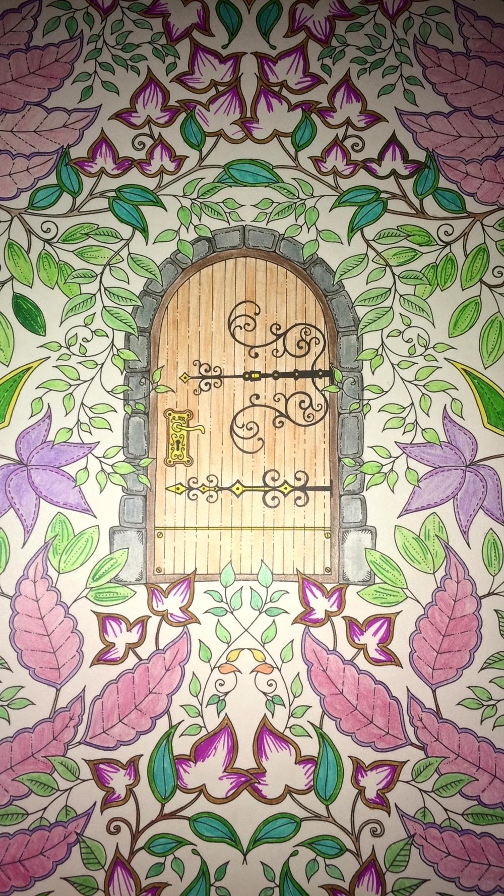Secret Garden Colouring Book — Gemma Oh