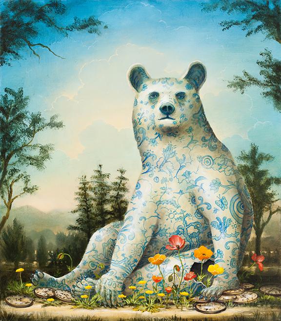 Delicate Garden: The Bear