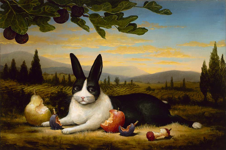 The Satisfied Hare