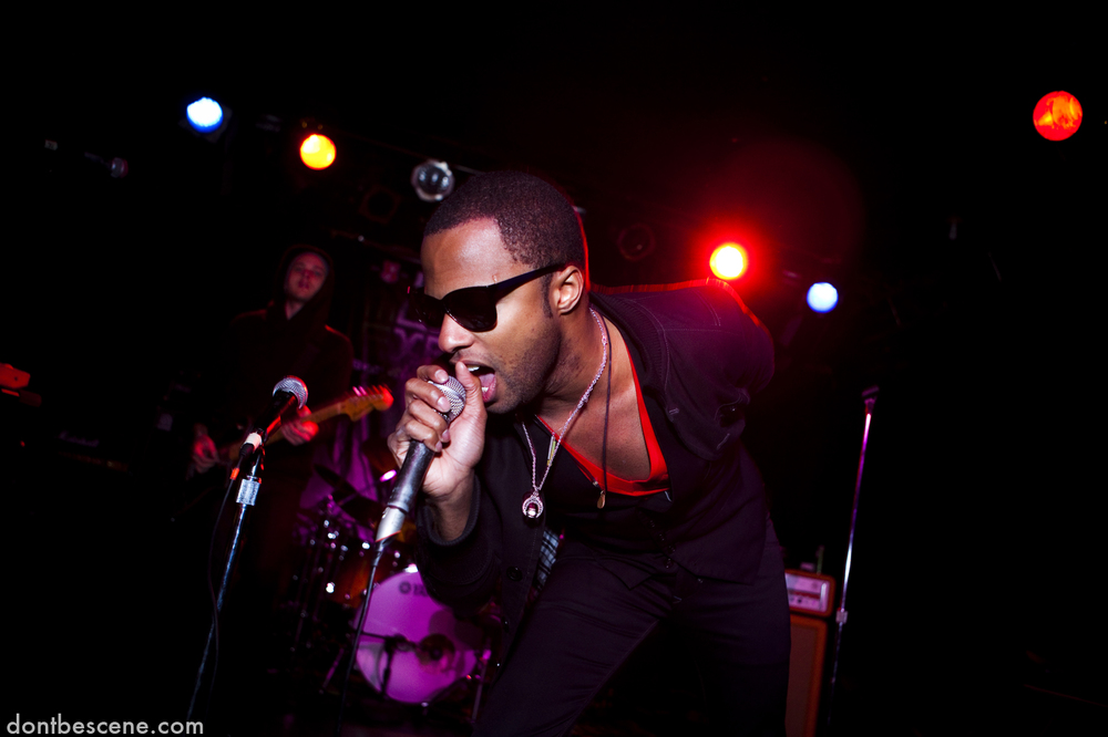 a&r performs live at the Beck's Music Export at the Double Door in Chicago on December 10, 2009